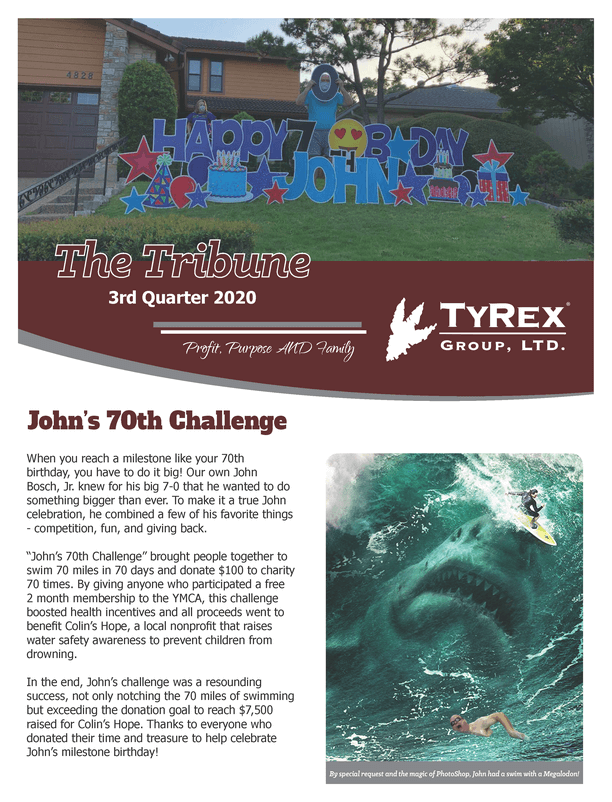 TyRex Newsletter Q3 (2020)