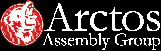 Arctos Assembly Group Logo (White Version)