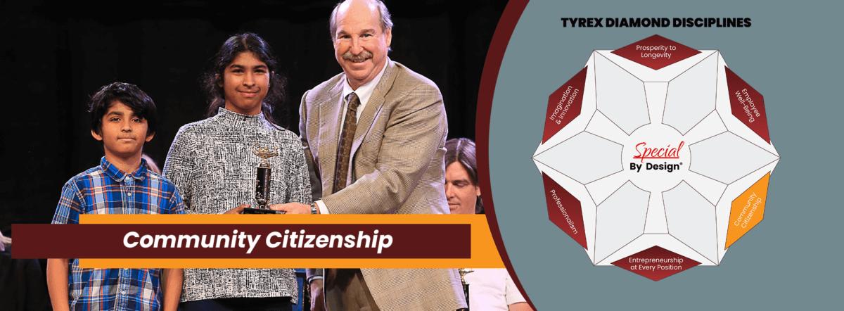 TyRex Graphic: Community Citizenship