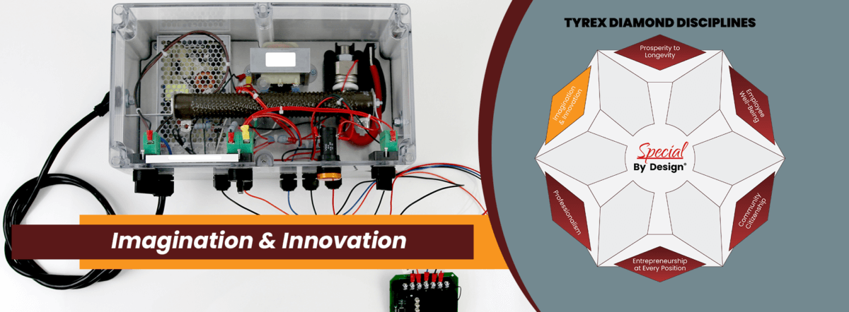 TyRex Graphic: Imagination & Innovation