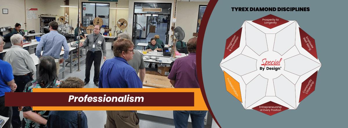 TyRex Graphic: Professionalism