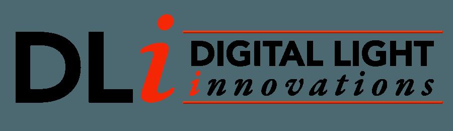 TyRex Logo: Digital Light Innovations - Horizontal