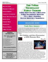 TyRex Newsletter: 1Q (2009)