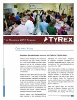 TyRex Newsletter: 1Q (2012)