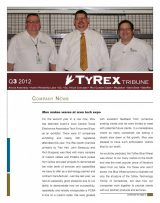 TyRex Newsletter: 3Q (2012)