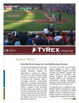 TyRex Newsletter: 3Q (2013)