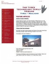 TyRex Newsletter: June (2000)