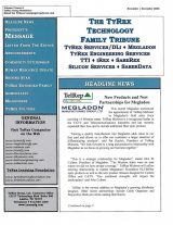 TyRex Newsletter: Nov-Dec (2008)