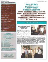TyRex Newsletter: Sept-Oct (2006)