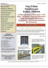 TyRex Newsletter: Sept-Oct (2007)