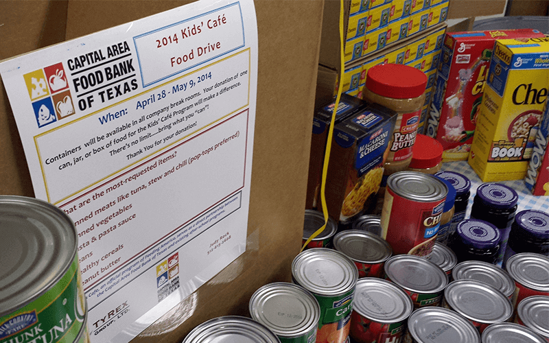 TyRex Photo: Food Drive 2014