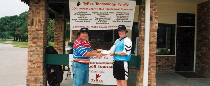 TyRex Photo: Golf Tournament