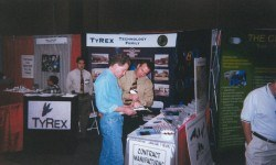 TyRex Photo: History - Trade Show Booth