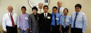 TyRex Photo: Middle Schoolers Visit