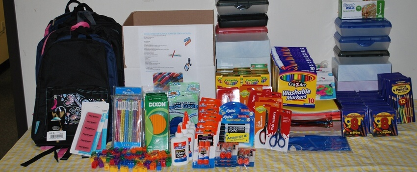 TyRex Photo: School Supply Drive