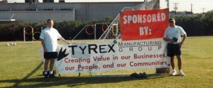 TyRex Photo: Soccer Field Dedication