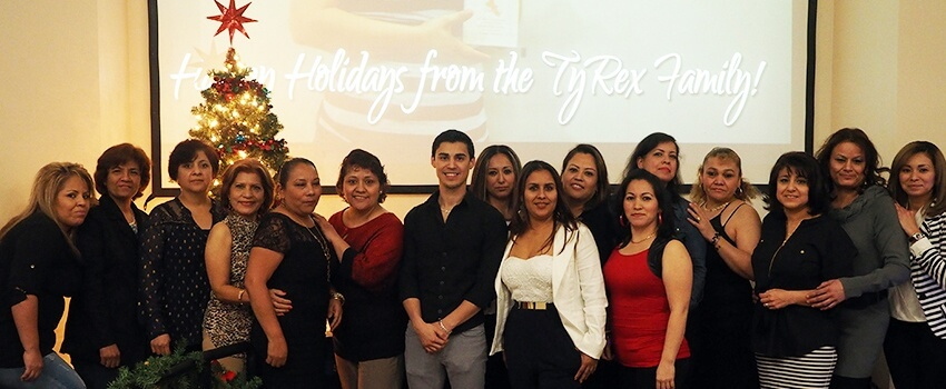 TyRex Photo: Holiday Party 2015