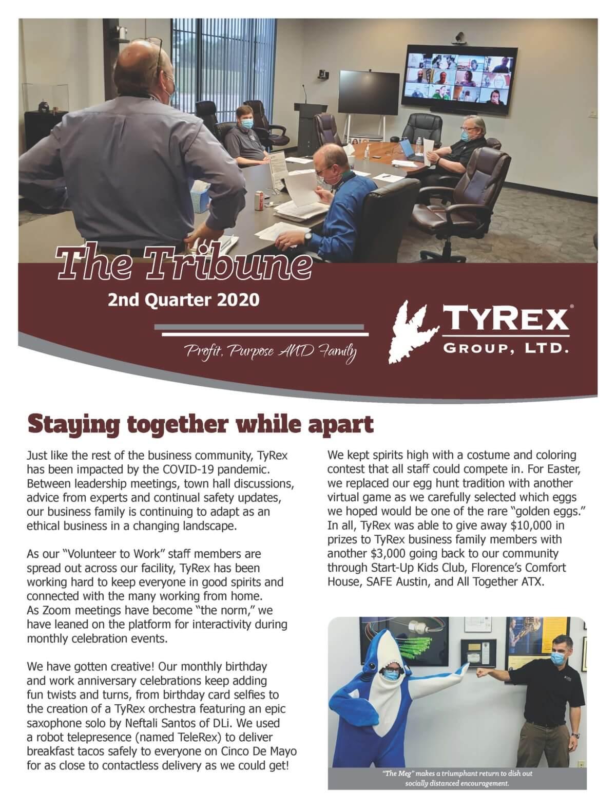 TyRex Newsletter Q2 (2020)