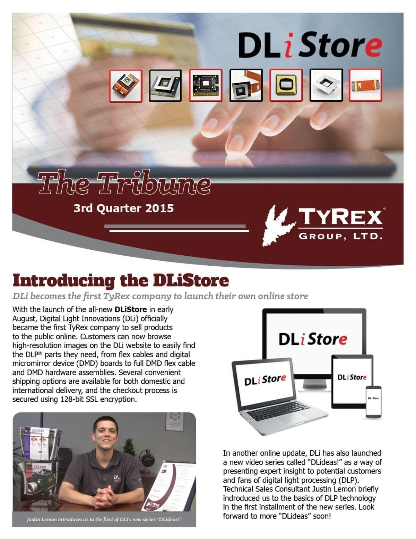 TyRex Newsletter: 3Q (2015)