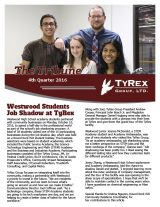 TyRex Newsletter: Q4 (2016)