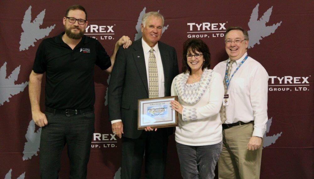 TyRex Founders Day - 2018 - Circle of Business Trust Award Winner - RecognizeGood