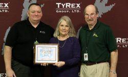 TyRex Founders Day - 2018 - Employee Well-Being Award Winner - iRex