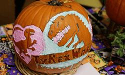 TyRex Halloween Pumpkin Contest - 2018 - Third Place