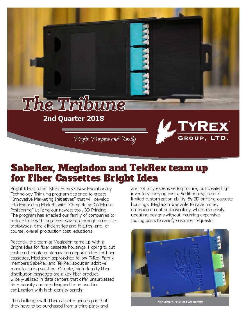 TyRex Newsletter - 2018 - Q2
